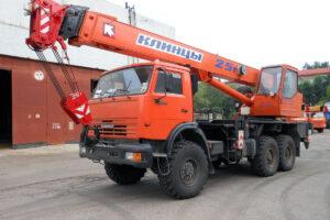 Автокран КЛИНЦЫ КС-55713-5К-3