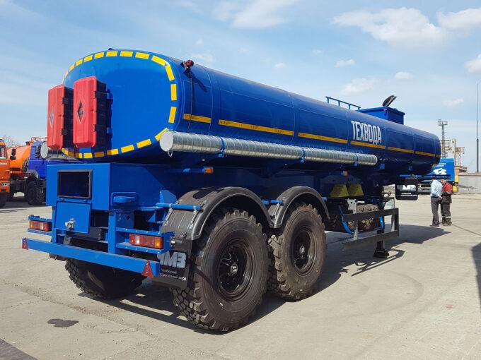 Полуприцеп-цистерна для транспортировки технической воды
