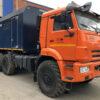 Промыслово-паровая передвижная установка на шасси Камаз 43118