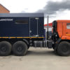 Промыслово-паровая передвижная установка на шасси Камаз 43118-3